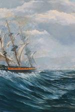 Cuadro barco Gómez Navas