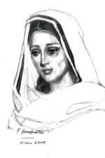 Dibujo Soledad de Félix Revello