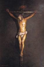 Lienzo Cristo de Armando Pareja Tello (60 €)