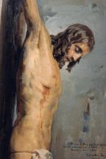Lienzo Cristo de Félix Revello (60 €)