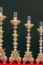 Candelabros de la candelería del trono de la Virgen