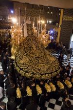 Manto de procesión de la Virgen de la Soledad